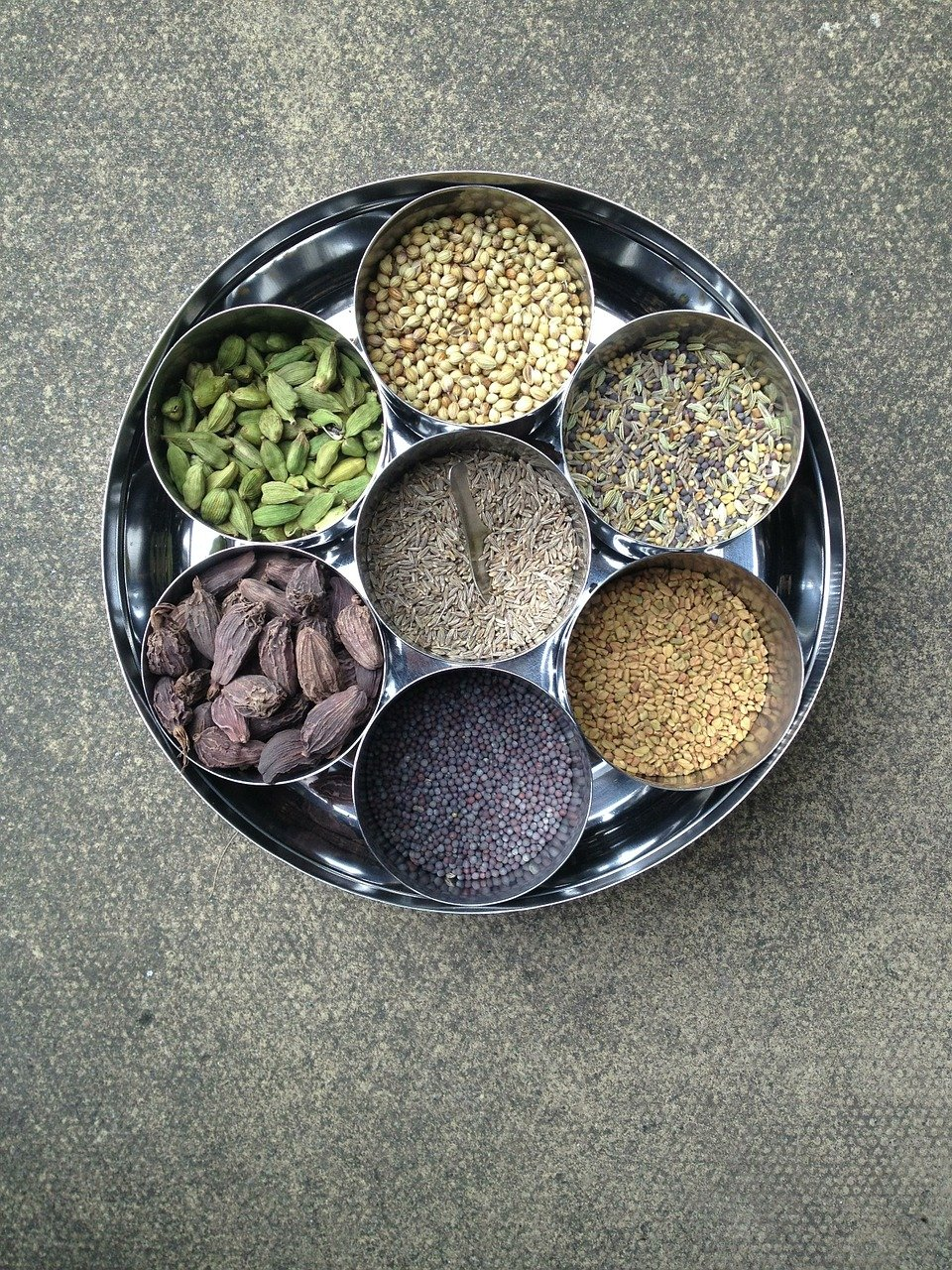 spices, indian, food
